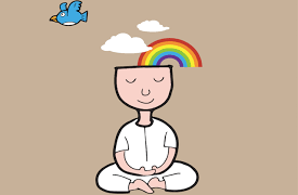 MEDITATION OFFERS THE IDEAL COUNTER-BALANCE TO THE MAN-MADE STRESSORS OF THE MODERN WORLD