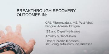 Testimonial: Chronic Fatigue Syndrome (CFS) Recovery